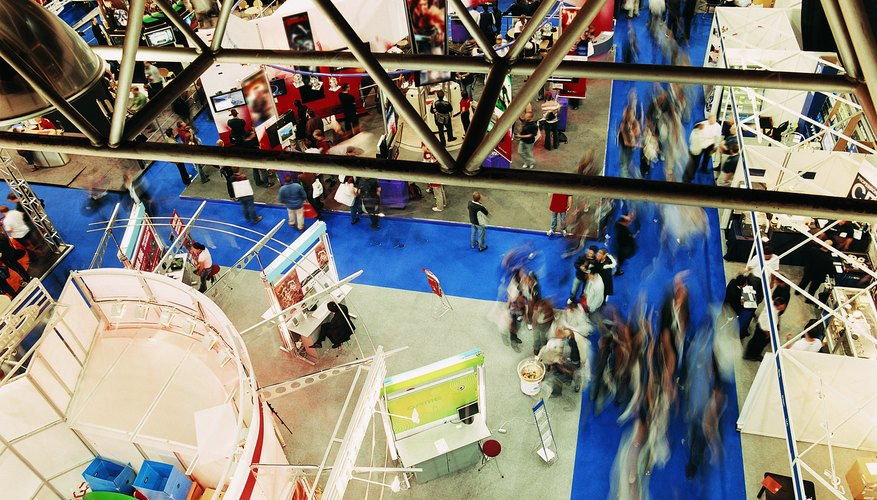 Trade shows can be important to small businesses.