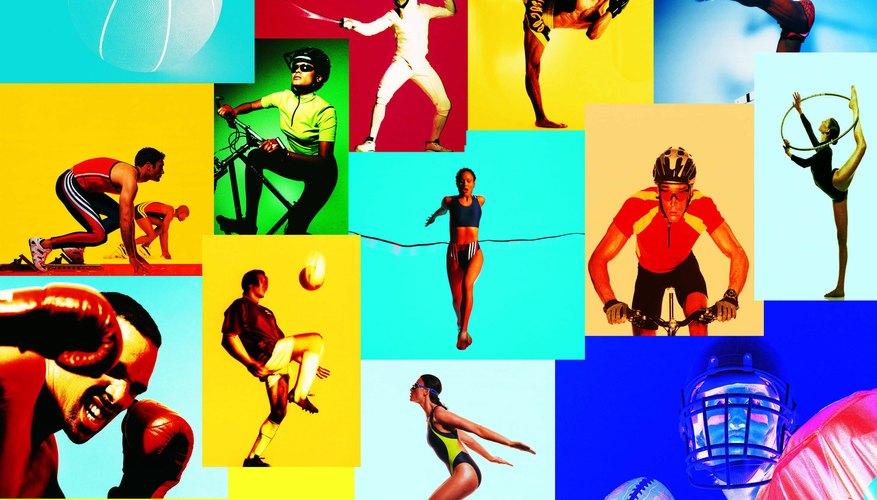 En los gimnasios escolares se pueden practicar varios deportes.