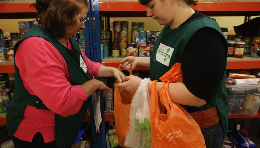 Homeless shelters base donation requests on food inventory.
