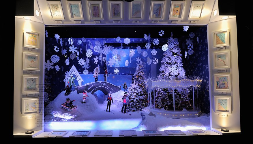Christmas Shoebox Diorama.Diorama Ideas Our Pastimes