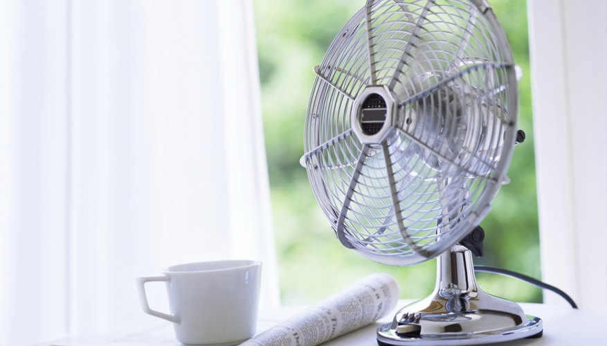 Place fans in front of windows.