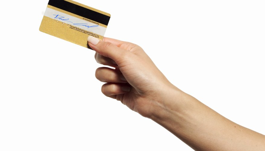 Credit card interest is only deductible in a limited number of situations.