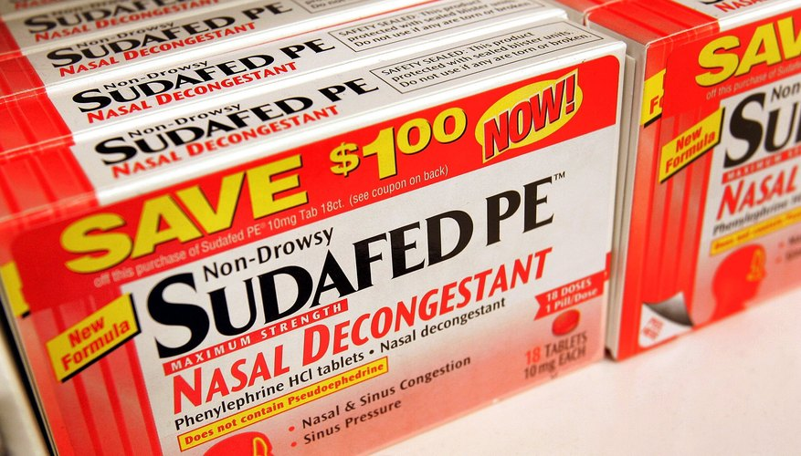 Stay away from decongestants