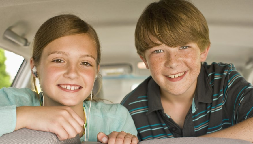 The middle of the back seat is the safest place to seat your child.