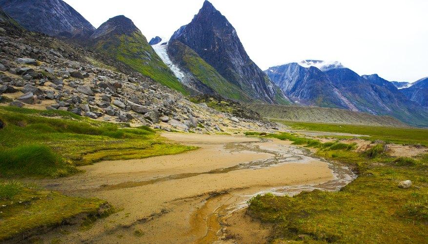 Glacial arctic field
