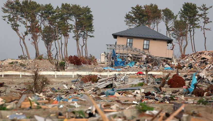 Tsunamis can be devastating to human livelihood.