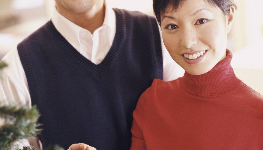 Los chalecos tejidos son apropiados para varias ocasiones.
