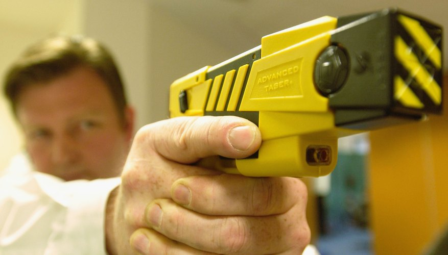 A taser is designed for distance.