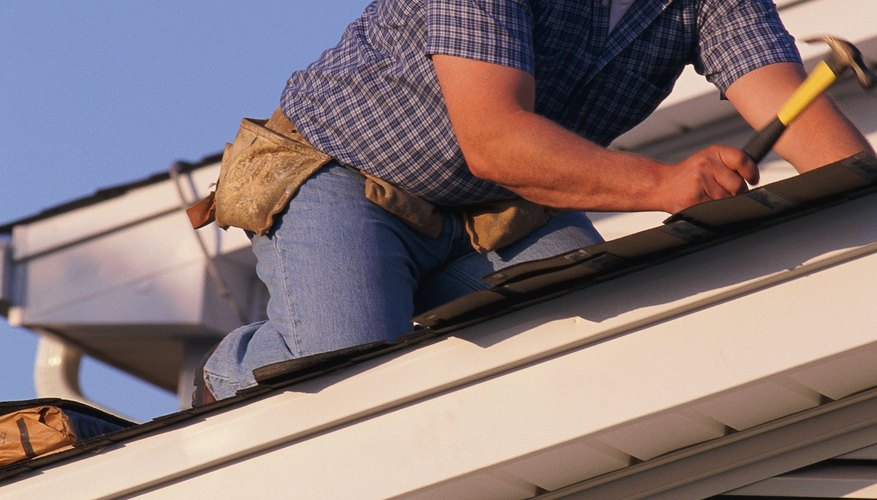 Roofers generally have the most work in the spring and summer.