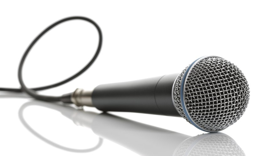Microphones are easy to buy and sell.