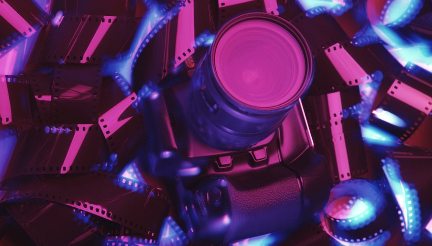 Film typically curls when it is stored improperly.