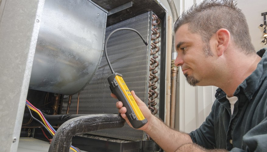 Hvac technicians work with freon.
