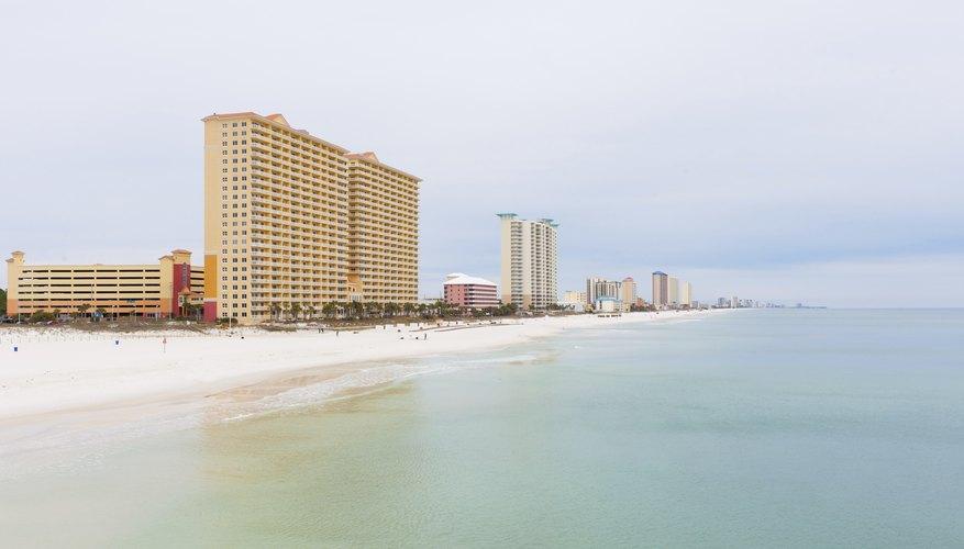 A condominium complex on the beach in Florida.