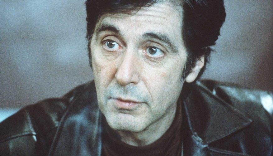Al Pacino es conocido por interpretar papeles de mafiosos.