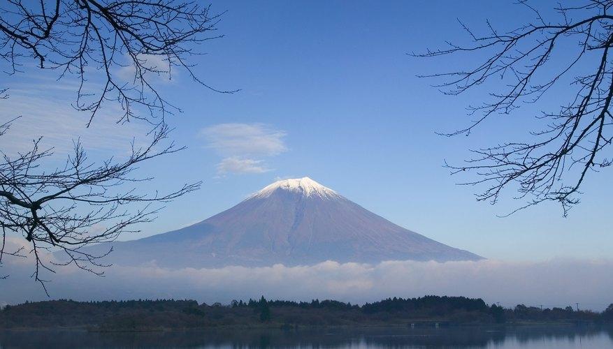 Un símbolo del país: el Monte Fuji.