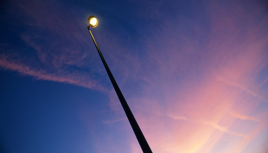 Street light, low angle view