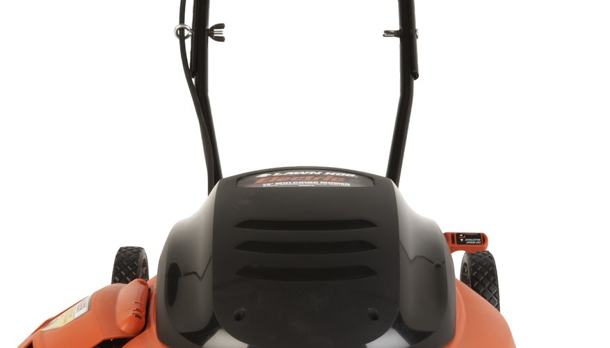 Electric mowers create no exhaust.