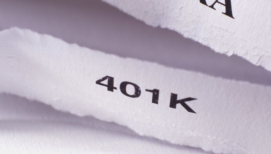 Your employer must arrange for your 401(k) payments to be placed in a trust fund.