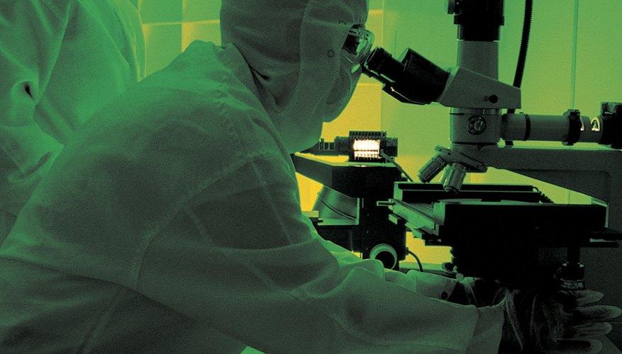 Los microscopios electrónicos de gran alcance son una de las modernas tecnologías utilizadas en la biología.