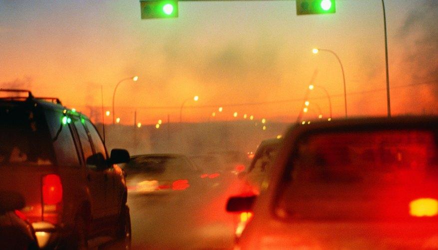 Contaminación por uso de combustibles hidrocarburos.