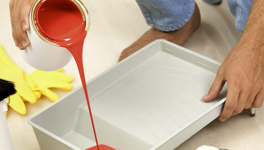 Different paint formulas have different densities.