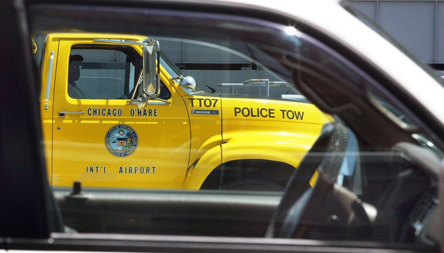 Some tow truck drivers prefer to work for companies or garages.