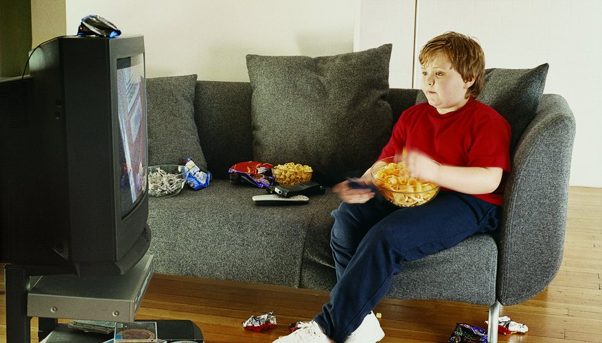 Fast food and TV culture may be making your child fat.
