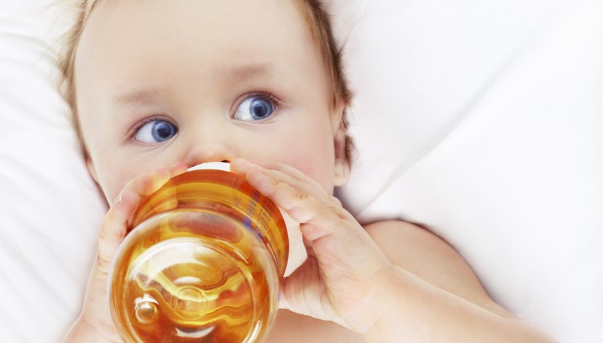 Avoid letting your baby have too much juice.