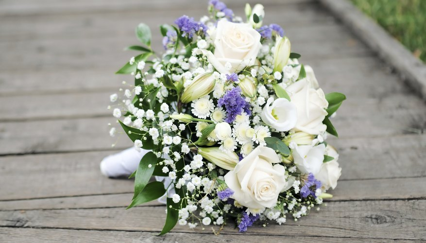 Dainty baby's breath blossoms lend grace and elegance to bridal arrangements.