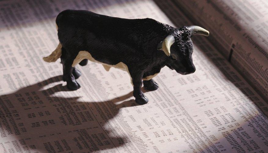 Qué significan el toro y el oso en el mercado de valores.