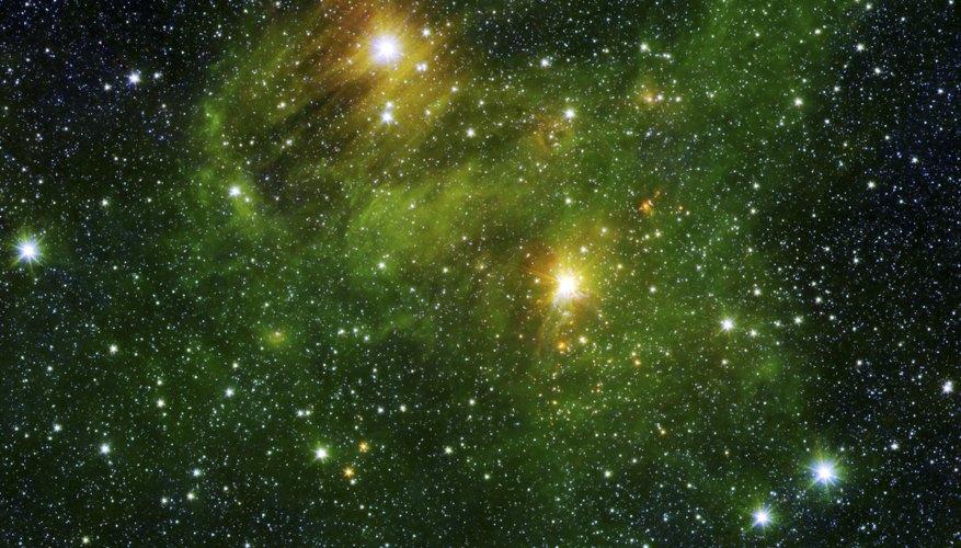Bright stars.