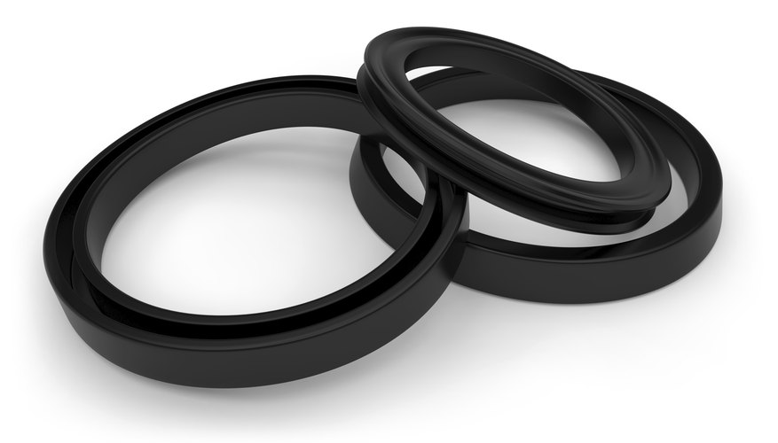 Synthetic rubber compounds are widely used in seals that stop leaks.