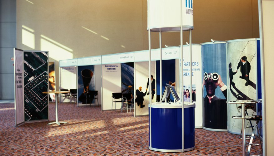 Exhibitor Booth Setup : Setup instructions for a trade show booth bizfluent