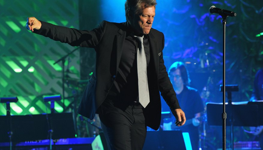 Bon Jovi uses several specific techniques to create his unique style.