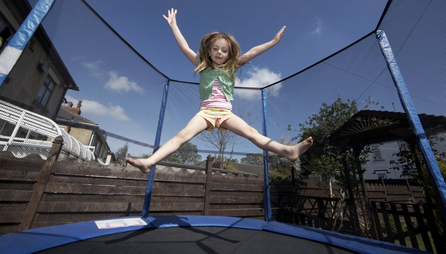 Safest Trampolines For Kids Our Pastimes