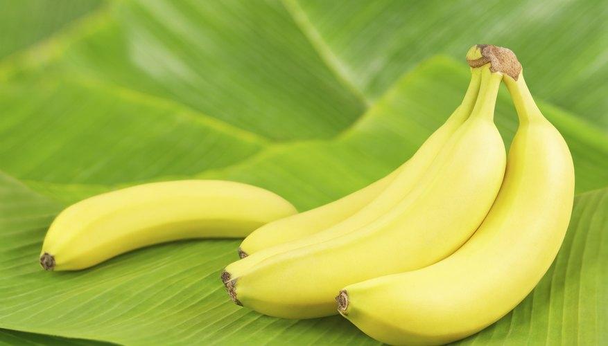 bananas are a good source of fiber