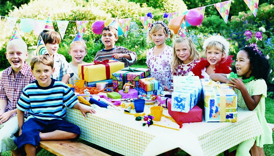 Plan some games for your child's birthday party to keep them engaged.