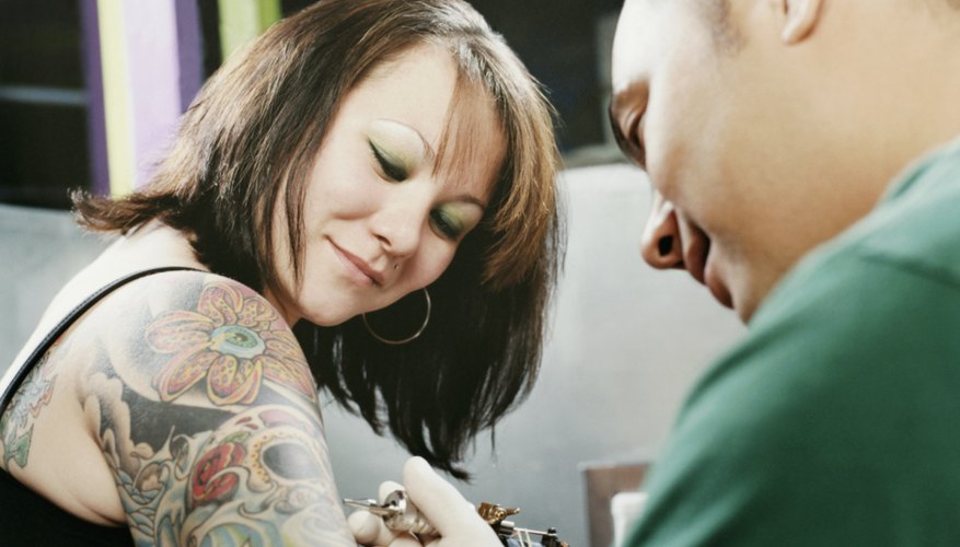 You don't need a college degree to become a tattoo artist.