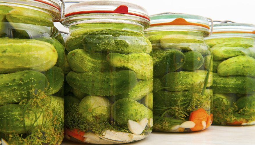 If you want to pickle your vegetables, put them in brine, which is salty water.