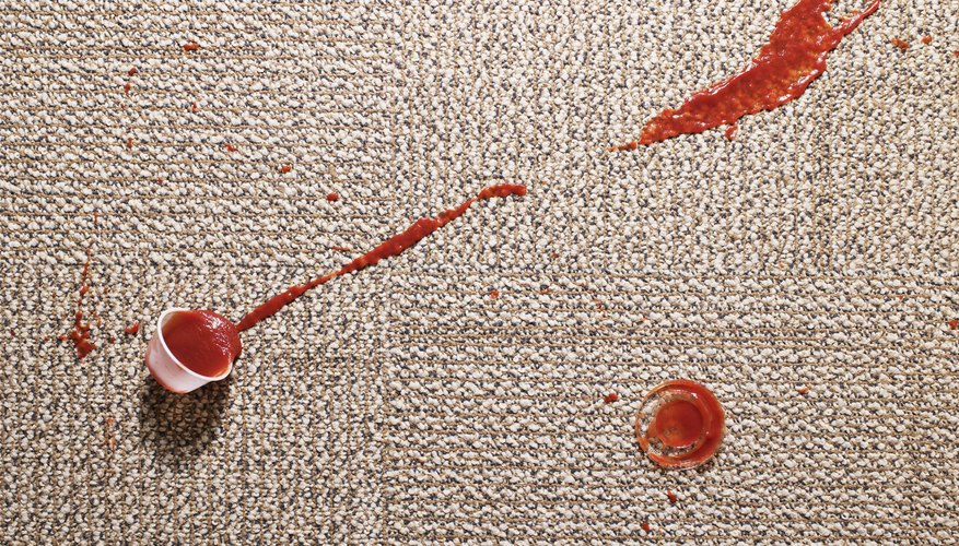 Stained carpets won't disqualify you from an FHA reverse mortgage.