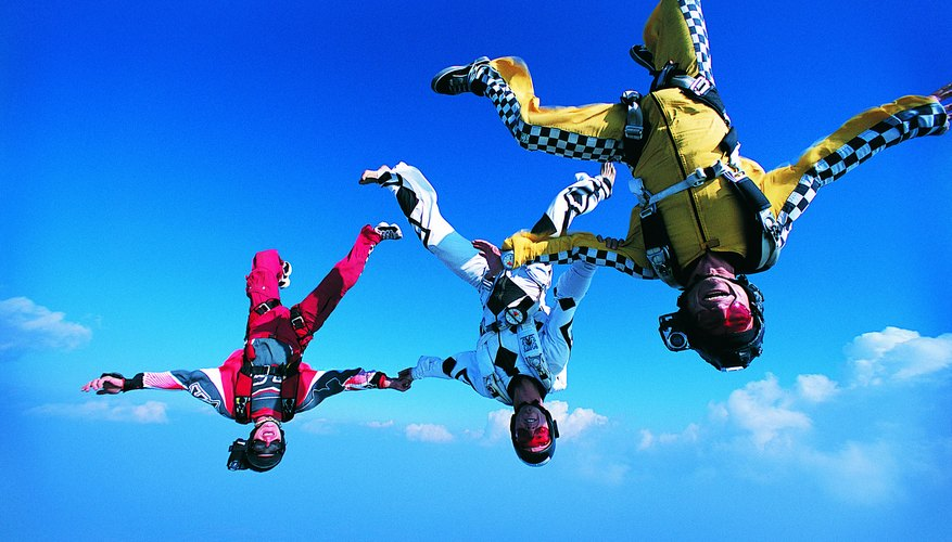 Sky diving is considered a dangerous activity and isn't covered in standard policies.