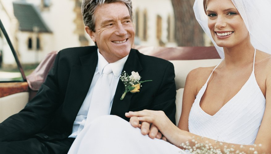 New wedding etiquette rules keep the bride's father smiling.