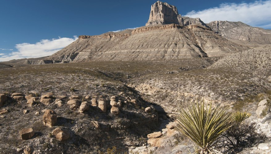 Guadalupe Mountains National Park in Texas.