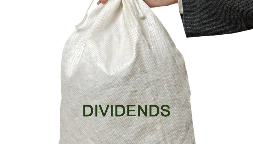 Established companies often maintain a steady dividend rate for several years.