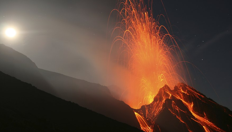 Natural disasters volcanoes