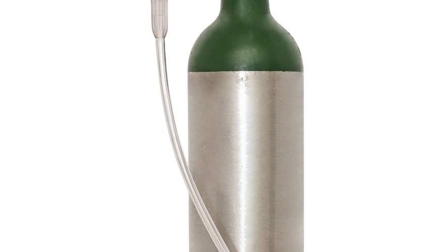 Portable Oxygen Cylinder For Medical Use