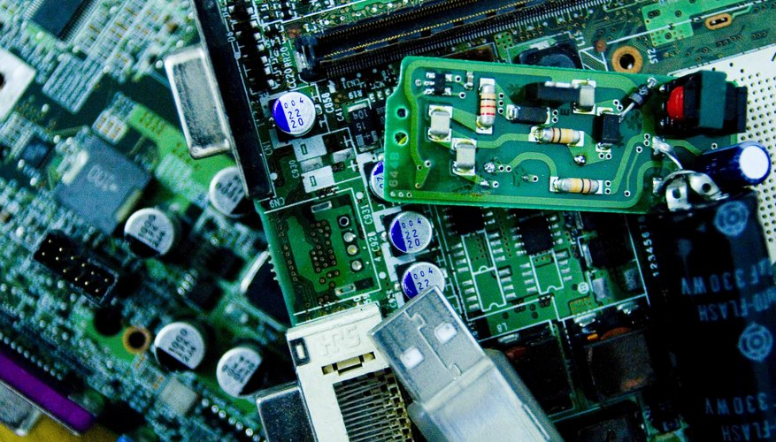 Silicon is an essential material in electronics manufacturing.