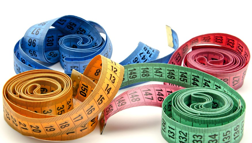 Tape measures are tools used to measure straight-line distances between two points.