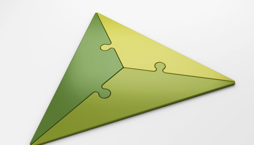 Finding the area of a triangle generally involves a simple multiplication problem.