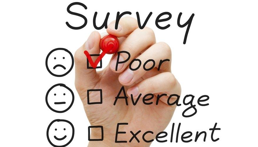 Survey Poor Evaluation